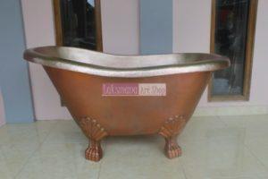 Bathtub tembaga dan kuningan Laksmana Art Shop Tumang 2