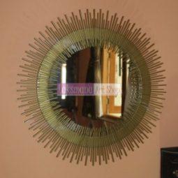 Cermin tembaga dan kuningan Laksmana Art Shop Tumang 1