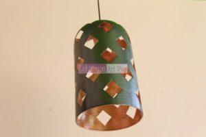 Lampu dari tembaga dan kuningan Laksmana Art Shop Tumang 8