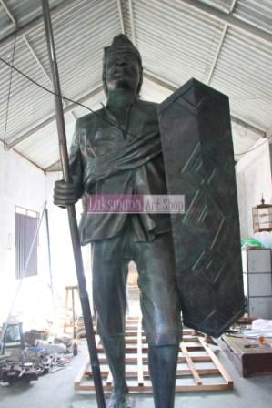 Patung dari Tembaga dan Kuningan - Laksmana Art Shop 4